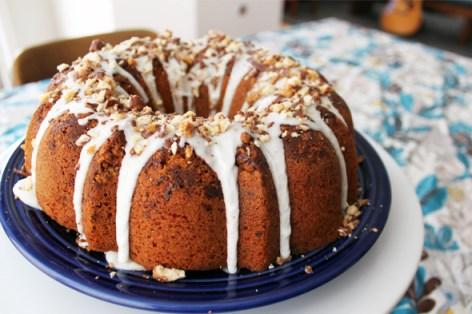 Girl Scout cookie bundt cake