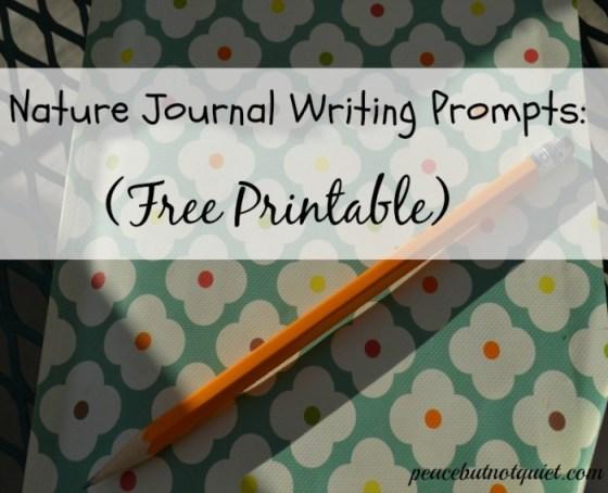 Nature Journal Printable