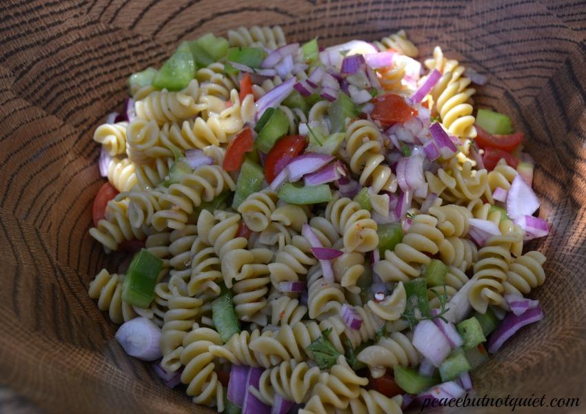 Cilantro Pasta Salad