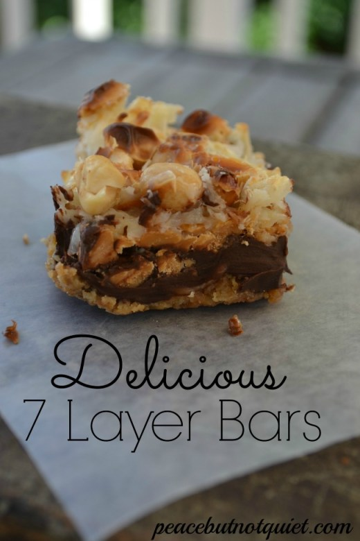 Delicious 7 Layer Bars