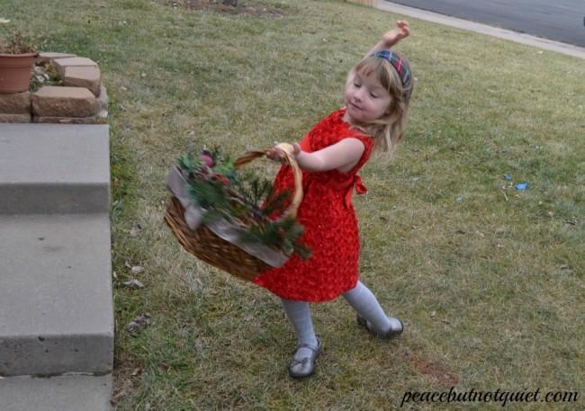 April dancing