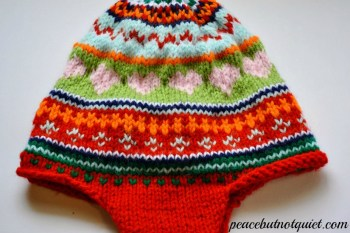 My Hat Trick (a Fair Isle Knitting Binge)