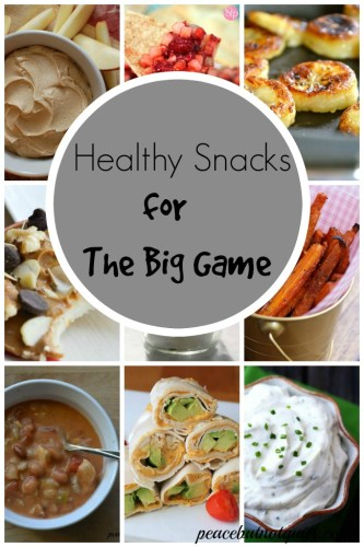 Healthy Snack Ideas for The Big Game