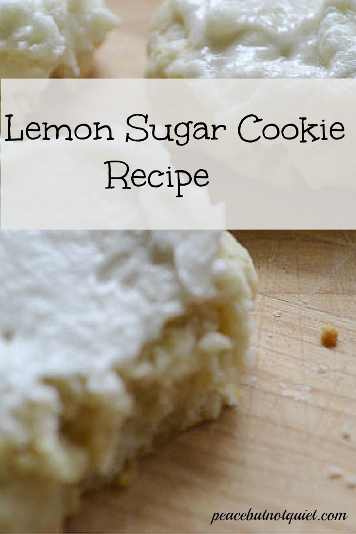 This lemon sugar cookie recipe is the perfect balance between sweet and tangy -- great for parties, picnics, or just a special treat!