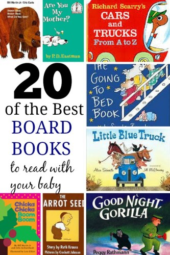 20 Board Books to Read with Your Baby
