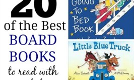 20 awesome board books -- grab one and read and snuggle with your baby tonight!
