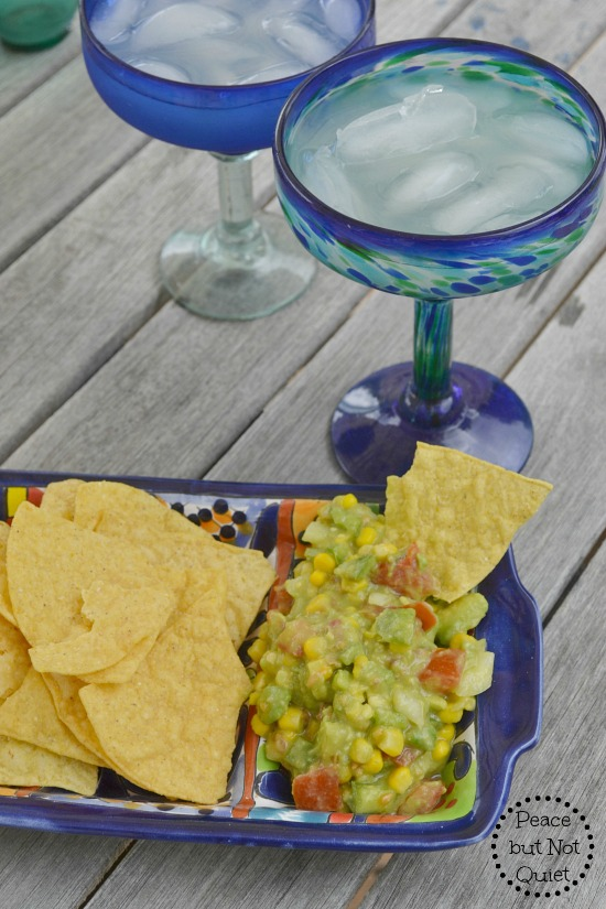 Try this delicious corn salsa recipe -- packed with garden veggies and perfect for a backyard BBQ!
