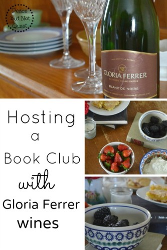 Hosting a Book Club with Gloria Ferrer Wines