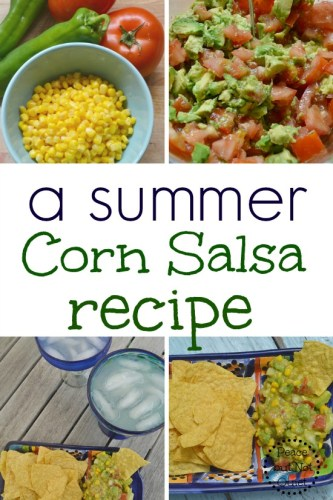 A Summer Corn Salsa Recipe