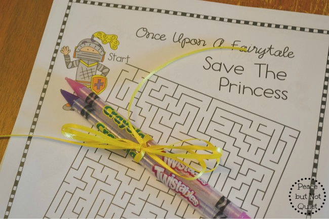 Looking for ideas for your next princess party? We've got tips to make your party a success, and a link to some fun party printables to use!