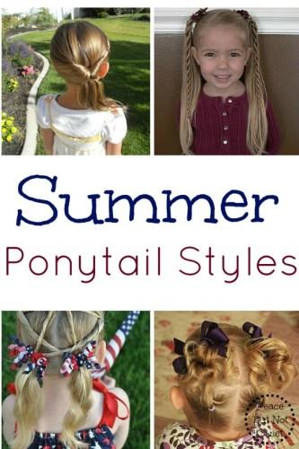 Summer Ponytail Styles
