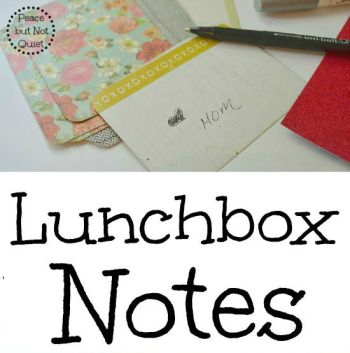 Lunch Box Notes