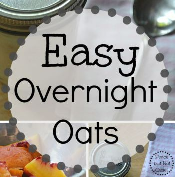Easy Overnight Oats