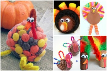 20+ Thanksgiving Crafts for Kids