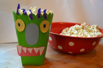 Big Green Monster, a Caramel Corn Recipe — and a Giveaway!