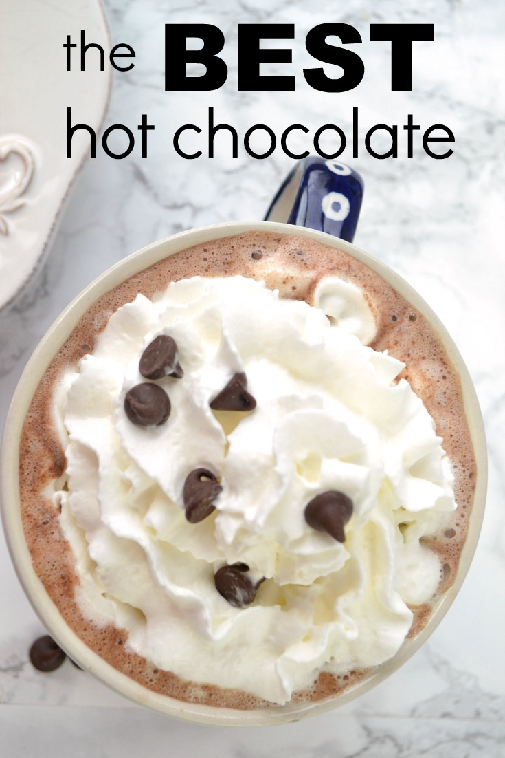How to Make the World's Best Hot Chocolate | Peace but Not Quiet