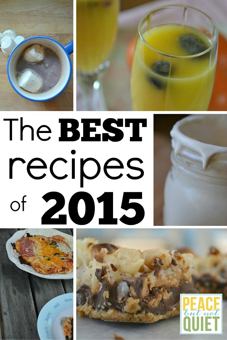 The 10 best breakfast, lunch, dinner, and drink recipes from the blog in 2015.