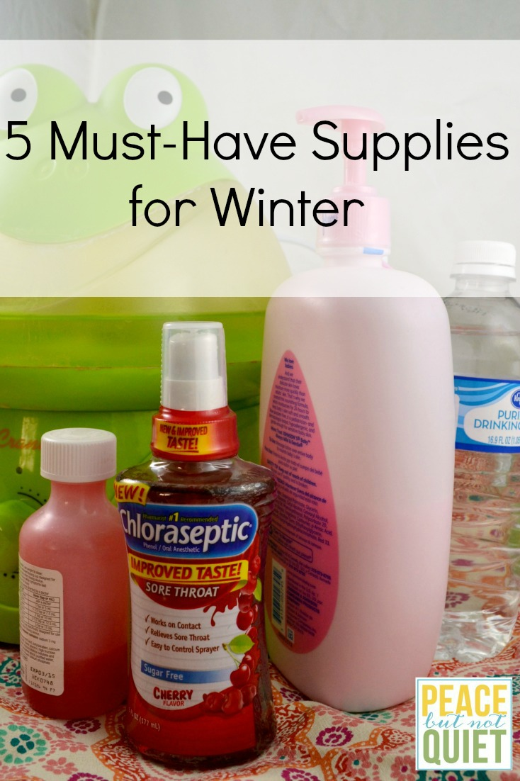 5 must-have supplies for winter