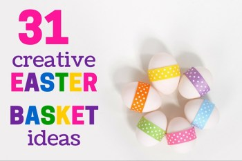 Creative Easter basket ideas besides candy