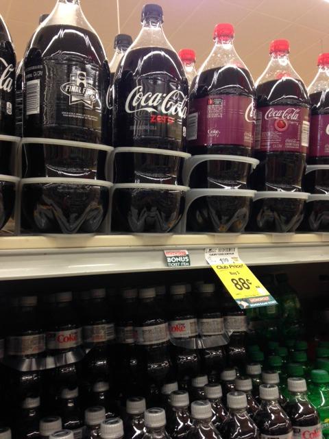 fun basketball party ideas -- Coke