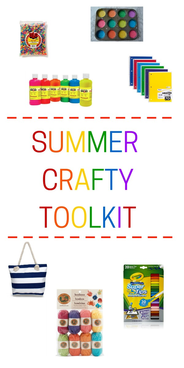Our summer toolkit for craft and kids activities