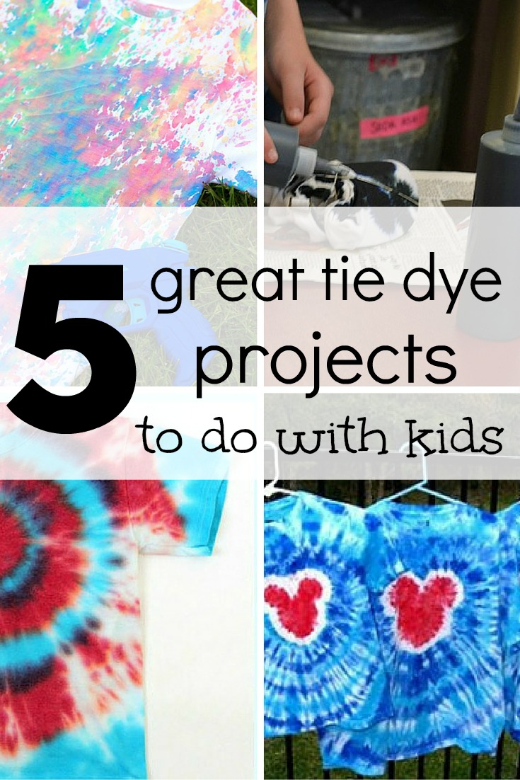 5 great tie dye projects to try with kids