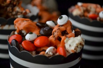 Spooky Halloween Popcorn