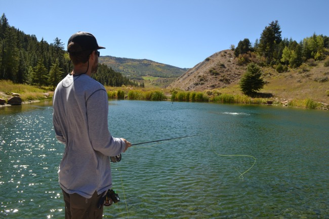 Fly fishing school is a great way to get outdoors with your familiy