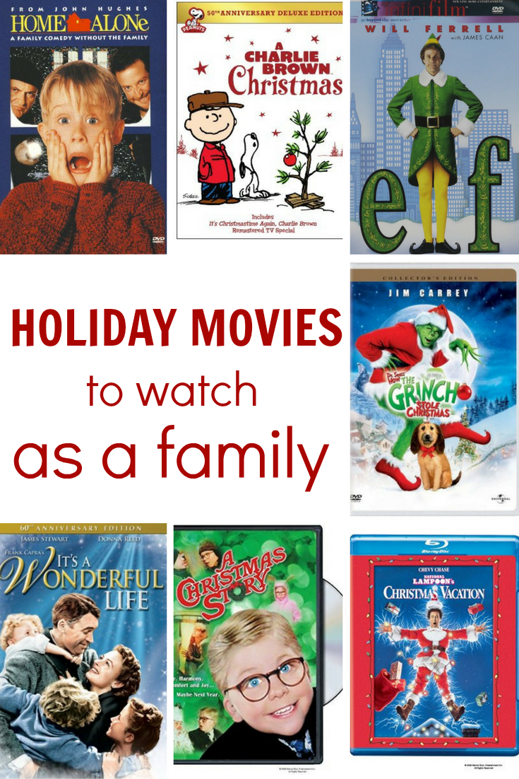 the best holiday movies to watch with your family