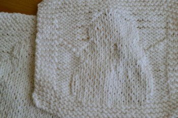 How to Knit An Adorable Snowman Dishcloth