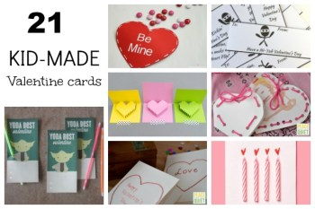 21 Handmade Valentine's Day Cards