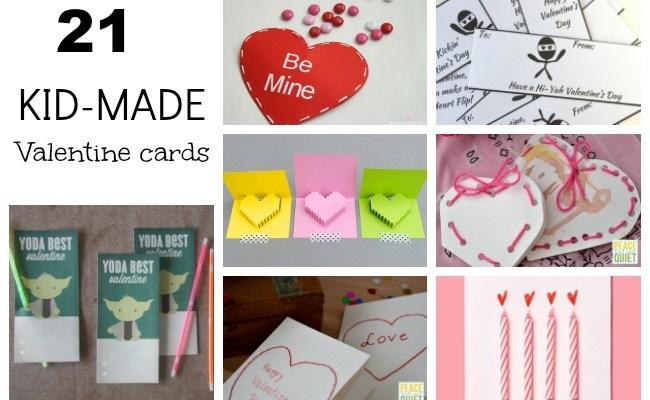 21 Handmade Valentine's Day Cards
