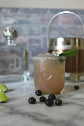 Make a Basil Margarita for Spring