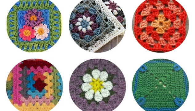 10 granny square patterns to crochet