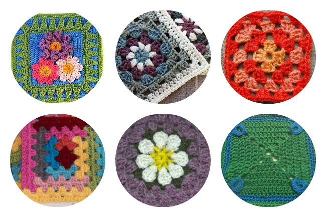 10 Free Simple Granny Square Patterns To Crochet