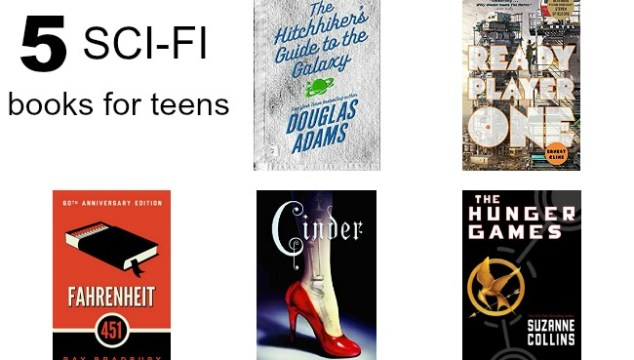 great sci-fi reading list for teens