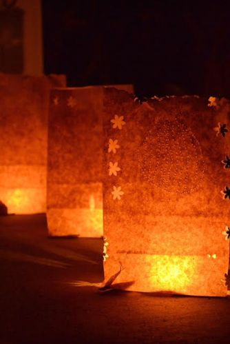 These Luminaria Make Great Halloween Decorations