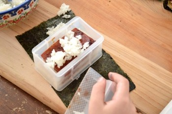 Cooking with Kids – Making Musubi