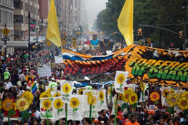 Climate march New York