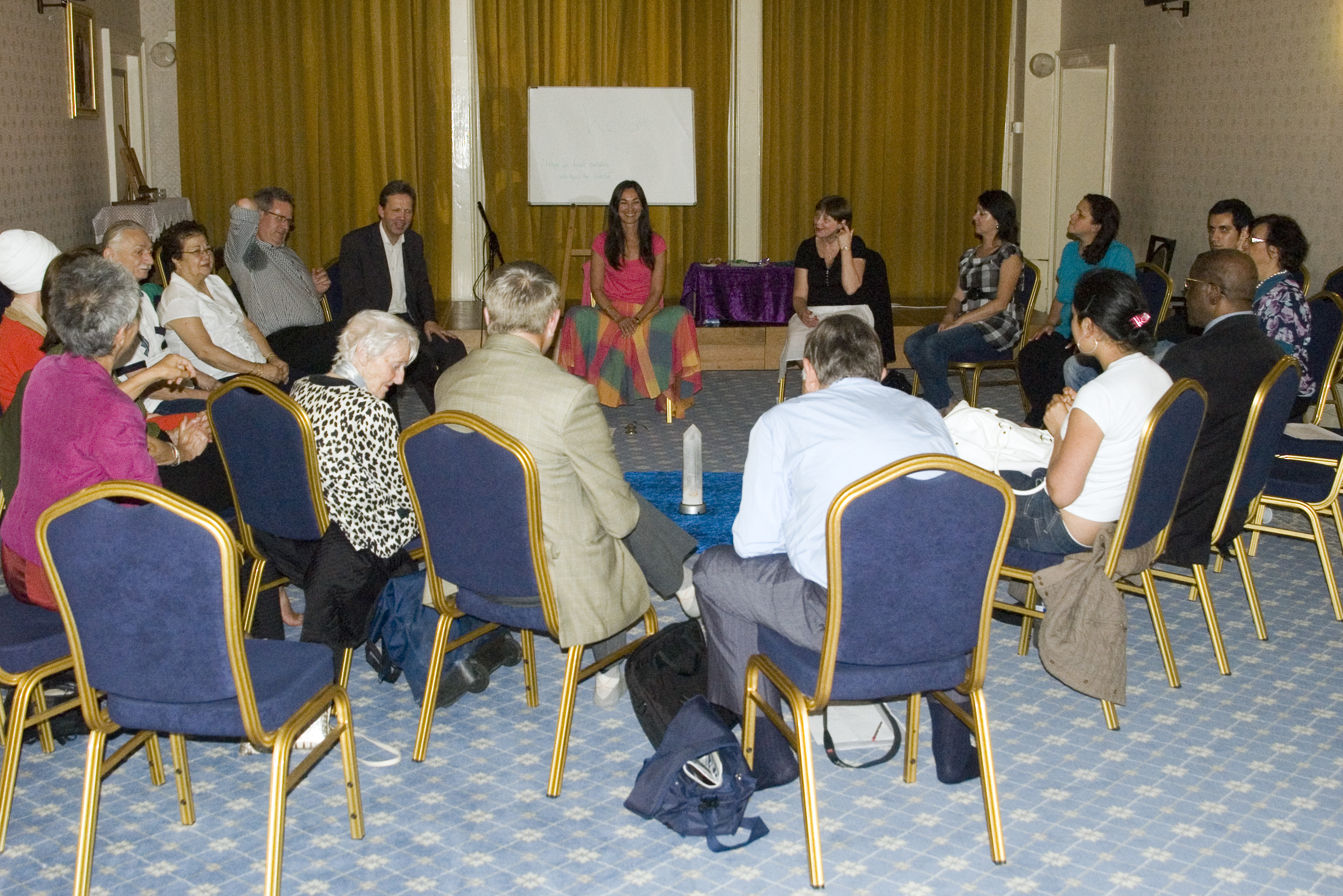 Guided Meditation and Discussion Led by Karen Szulakowska