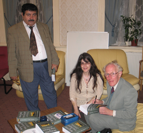 Book Signing Rev Dr Marcus Braybrooke