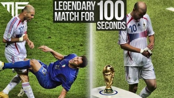 LEGENDARY MATCH FOR 100 SECONDS | ITALY VS. FRANCE WORLD CUP FINAL 2006