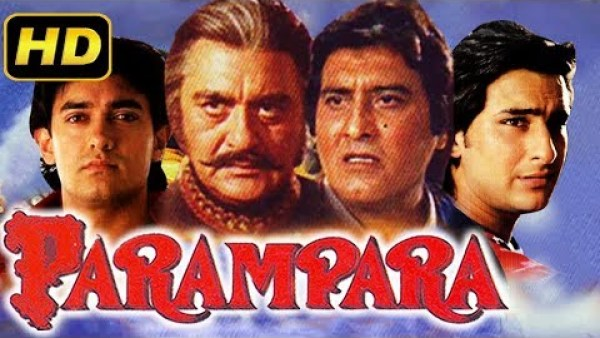 Parampara (1993) Full Hindi Movie | Vinod Khanna, Aamir Khan, Saif Ali Khan, Raveena Tandon
