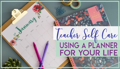Teacher Planner For your Life