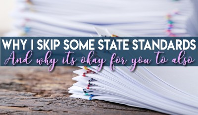 Hey Middle School Teachers – It's Okay to Skip Some Standards