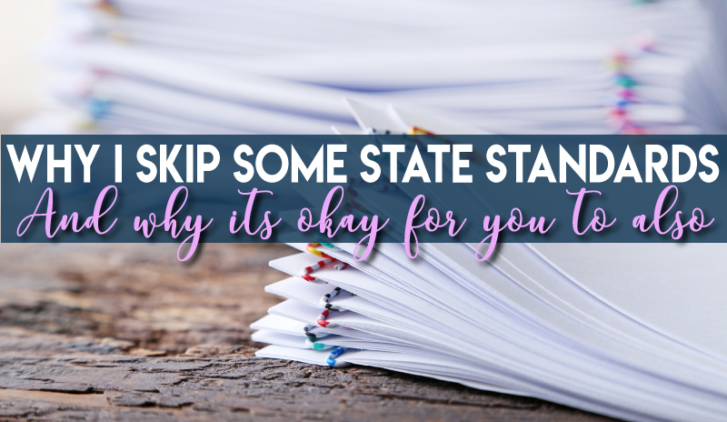 Skipping State Standards in Middle School