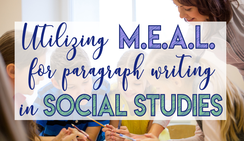 MEAL Paragraph Planning