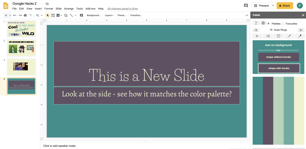 10 Hacks for Creating with Google Slides - Part 2