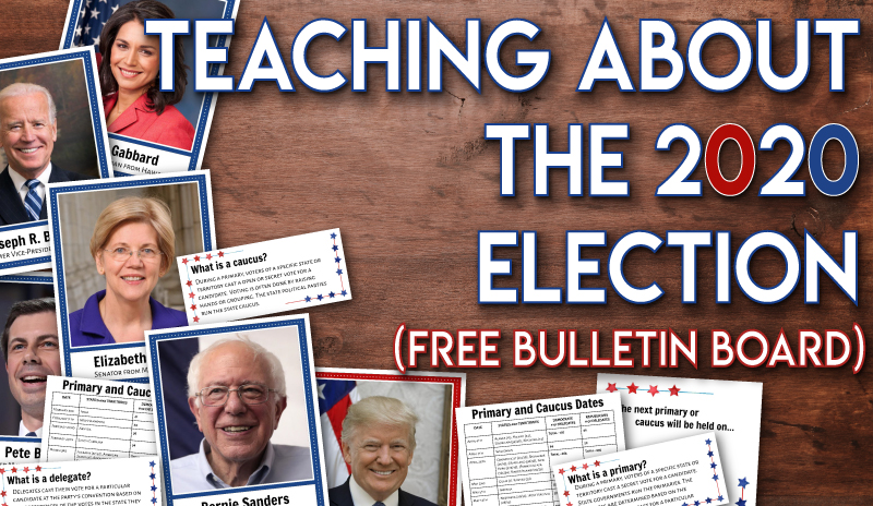 Teaching about the 2020 Election