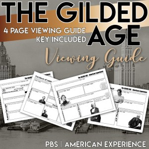 The Gilded Age American Experience PBS Viewing Guide